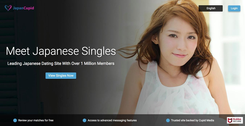 JapanCupid main page