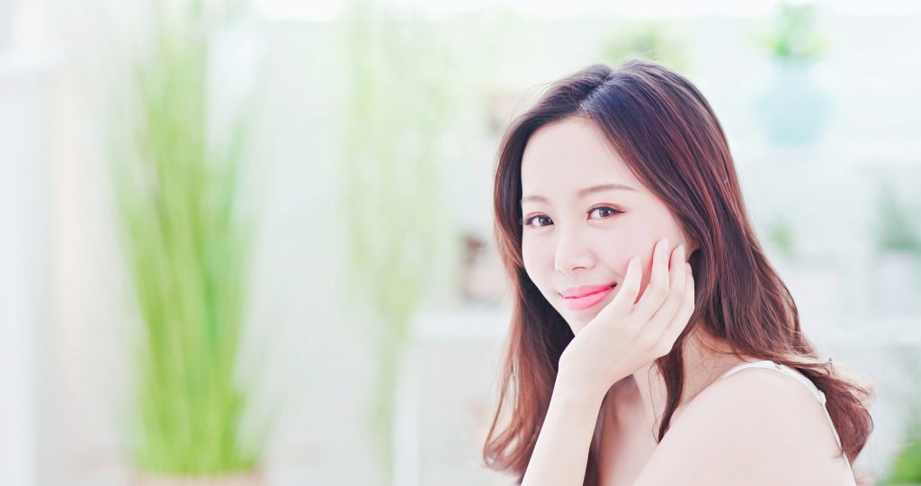 Beauty Asian Skin care woman