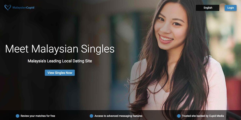 MalaysianCupid main page