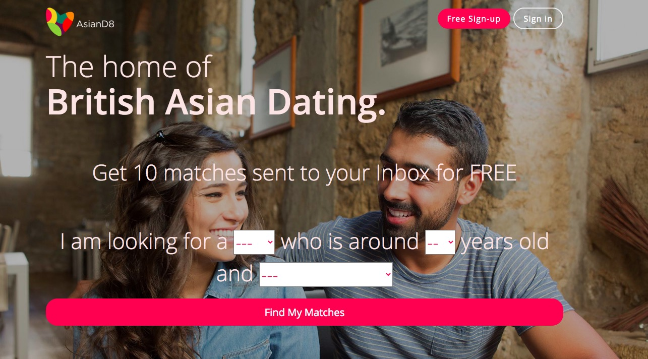 AsianD8 main page