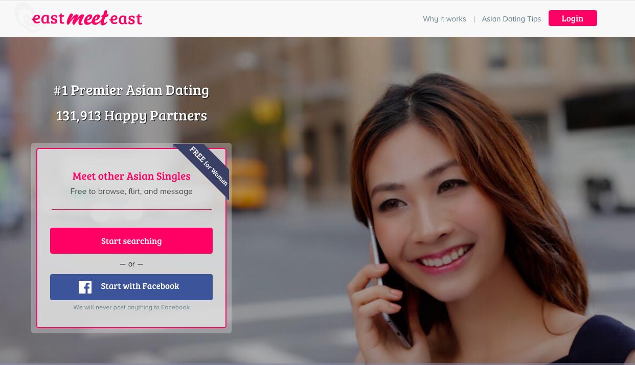 EastMeetEast main page