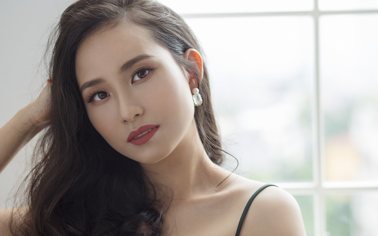 charmed asian girl
