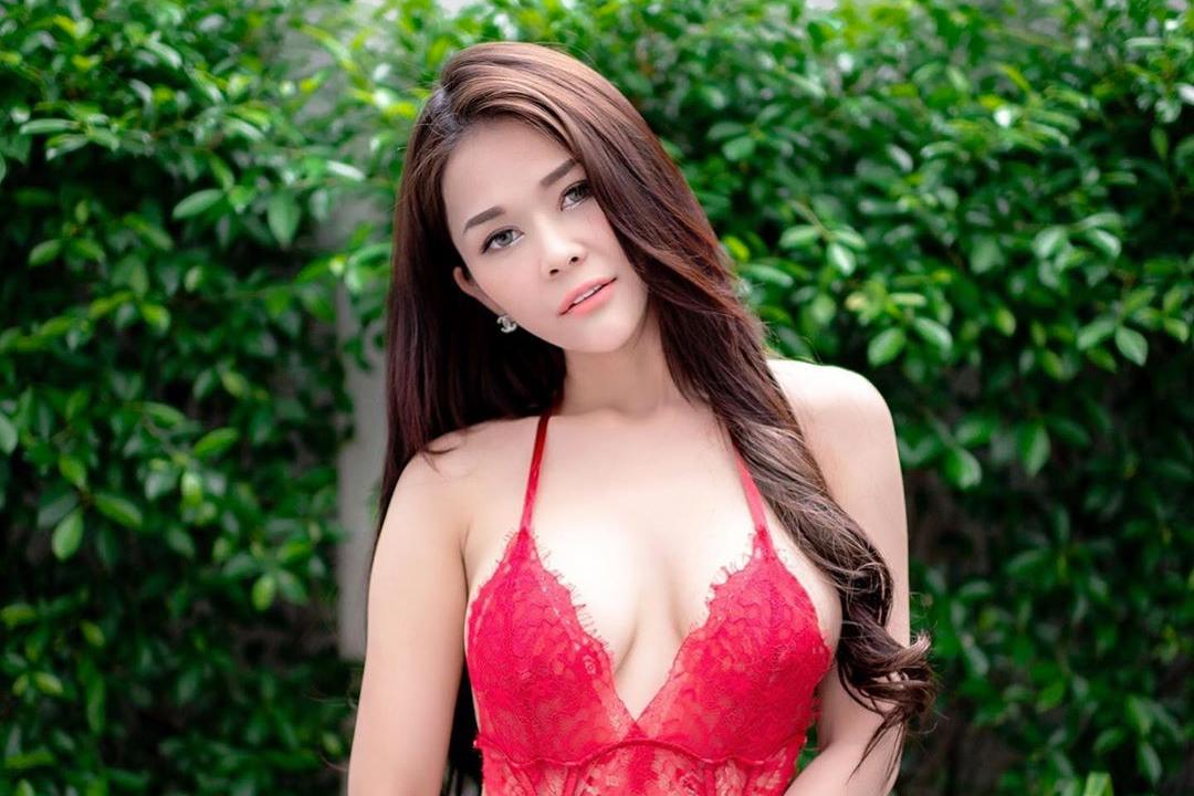 asian Thai girl in lingerie