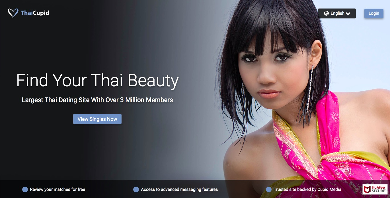 Thaicupid main page